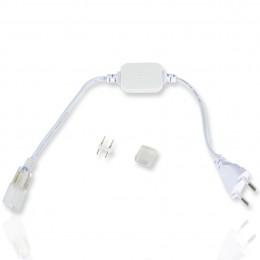 Сетевой шнур для одноцветной ленты 2835, 5050 220V 220С