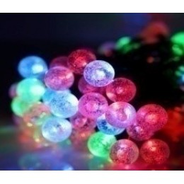 Гирлянда Пузырьковый шар уличная 8м Мульти