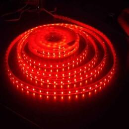 Светодиодная DIP лента бокового свечения 335 60 светодиодов IP65 красная