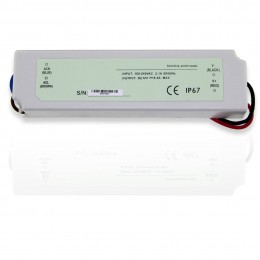 Блок питания 12V герметичный 100W (slim)