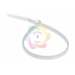 Хомут nylon 3.0 х 200 мм белый REXANT (упаковка 100шт)
