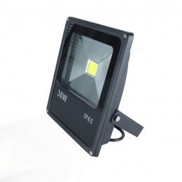 Светодиодный прожектор Super Slim (30W, 220V) White