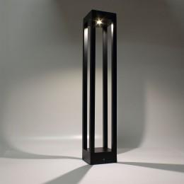 Уличный светильник столбик JH-BD-B18 DHL38 (220V, 7W, черный корпус, 600mm, IP65, warm white)