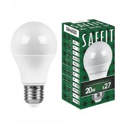 Лампа светодиодная, 20W 230V E27 2700K
