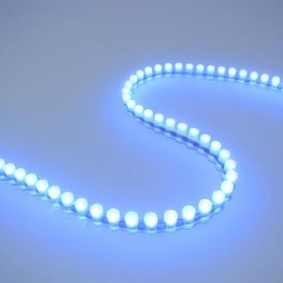 Светодиодная DIP лента бокового свечения IP67 Синяя