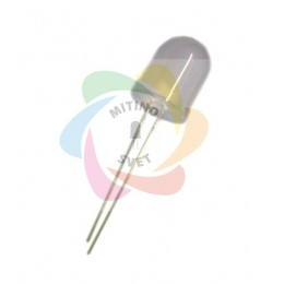 Светодиод 12V 10мм мигающий RGB