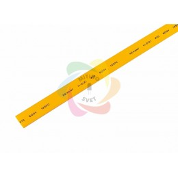 10.0 / 5.0 мм 1м термоусадка желтая