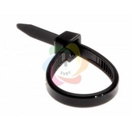 Хомут nylon 2.5 х 100 мм черный REXANT (упаковка 100шт)