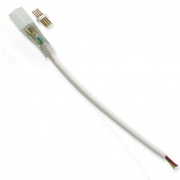 Коннектор для светодиодного неона RGB 0616 LN13