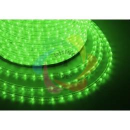 Дюралайт светодиодный 220В, диаметр 11 мм, бухта 100м Green