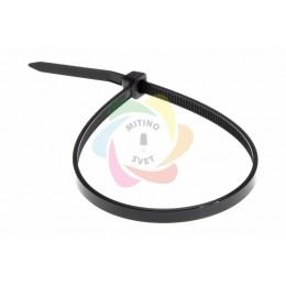 Хомут nylon 4.0 х 300 мм черный REXANT (упаковка 100шт)