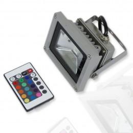 Прожектор светодиодный 10W 220V RGB