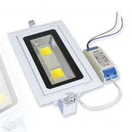 Встраиваемый потолочный прожектор 30W 220V WarmWhite