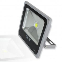 Светодиодный прожектор Slim (50W, 220V) White