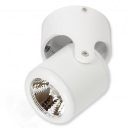 Прожектор светодиодный 10W 220V с изменяемым направлением освещения White