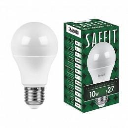 Лампа светодиодная, 10W 230V E27 4000K