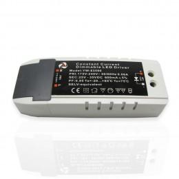 Светодиодный драйвер диммируемый YW-83590 (25-35V, 600mA)