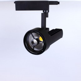 Светодиодный светильник трековый JH-GDD 2L PX66 (50W, 220V, black body, 30deg, warm white)