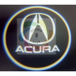 Проекция логотипа ACURA