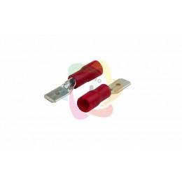 КЛЕММА ПЛОСКАЯ изолированная (КПИ штекер - 4.8мм) 0.5-1.5мм? (VM1.25-187(8))