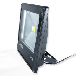 Светодиодный прожектор Super Slim (50W, 220V) White