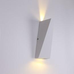 Светодиодный светильник JH-BD06 DHL18 (220V, 2х3W, белый корпус, warm white)
