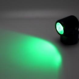 Прожектор светодиодный 10W 220V с изменяемым направлением освещения (черный корпус) RGB