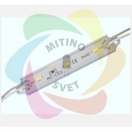 Светодиодный модуль 3SMD 5630 White