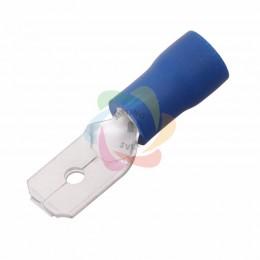 КЛЕММА ПЛОСКАЯ изолированная (КПИ штекер - 6.3мм) 1.5-2.5мм? (VM2-250)