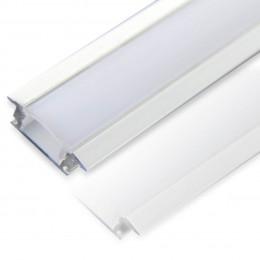 Профиль алюминиевый №2 длина 2м
