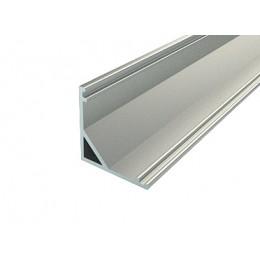 Профиль алюминиевый №10 длина 2м