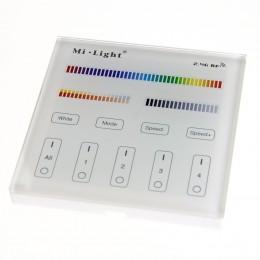 Сенсорная панель Mi-Light T4 P156 (RGB+CCT, 220V, 2,4GHz)