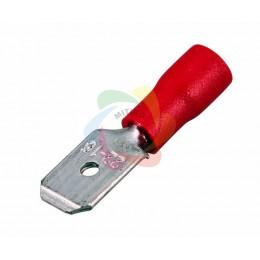 КЛЕММА ПЛОСКАЯ изолированная (КПИ штекер - 6.3мм) 0.5-1.5мм? (VM1.25-250)