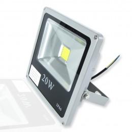 Светодиодный прожектор Slim (20W, 220V) White