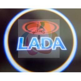 Подсветка дверей LADA