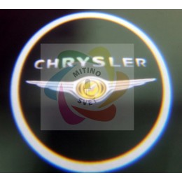 Проекция логотипа CHRYSLER