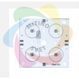 Алюминиевая плата PCB elitpcb 724-151 (52 x 52)