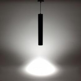 Светильник подвесной светодиодный JH-GDD-A38B PA57 (15W, 220V, day white, черный корпус)