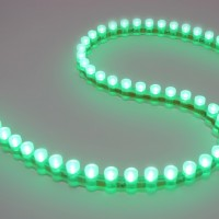 Светодиодная DIP лента бокового свечения IP67 Green