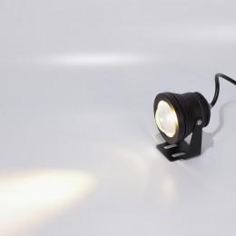 Прожектор светодиодный круглый 10W 220V WarmWhite