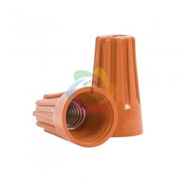Соединительный изолирующий зажим оранжевый (1,5 до 6,0 кв. мм2) СИЗ-3 (упаковка 100шт)