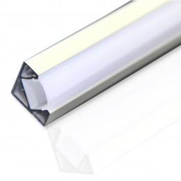 Профиль алюминиевый №12 длина 2м