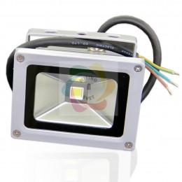 Прожектор светодиодный 10W 220V Green