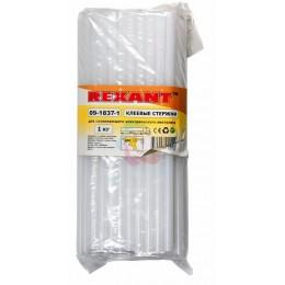 Клеевой стержень d=11.3мм L=270мм Прозрачный t-83°C, вязкость 18.000Pa.s, 1кг REXANT (упаковка 1 кг)
