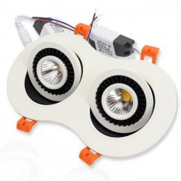 Светодиодный светильник JH-702В-2*7W B782 (14W, White)
