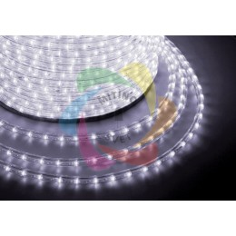 Дюралайт светодиодный 220В, диаметр 11 мм, бухта 100м White