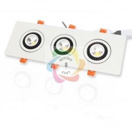 Светодиодный светильник JH-704B-3*7W B786 (21W, White)