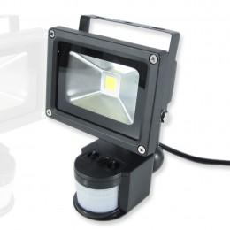 Светодиодный прожектор 10W 220V с датчиком движения White