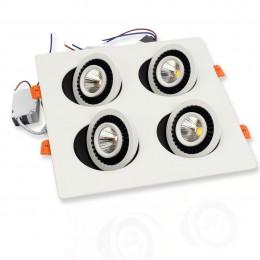 Светодиодный светильник JH-705H-4*7W B787 (28W, WarmWhite)