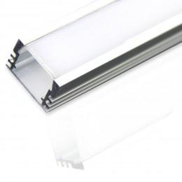 Профиль алюминиевый №4 длина 2м